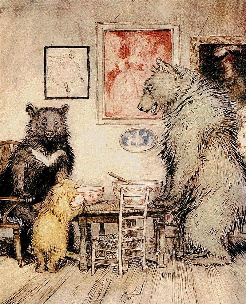 ,,Opowieść o trzech niedźwiadkach