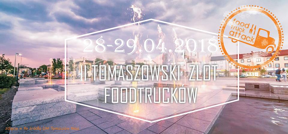 II Tomaszowski Zlot Foodtrucków