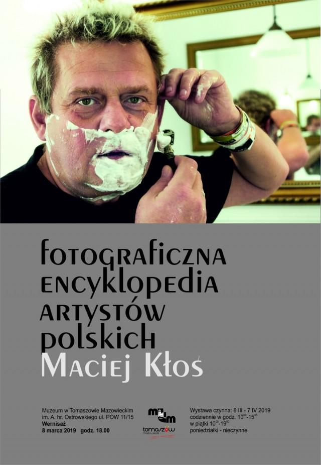 """Wystawa w Muzeum: """"Fotograficzna Encyklopedia Artystów Polskich. Maciej Kłoś"""""""