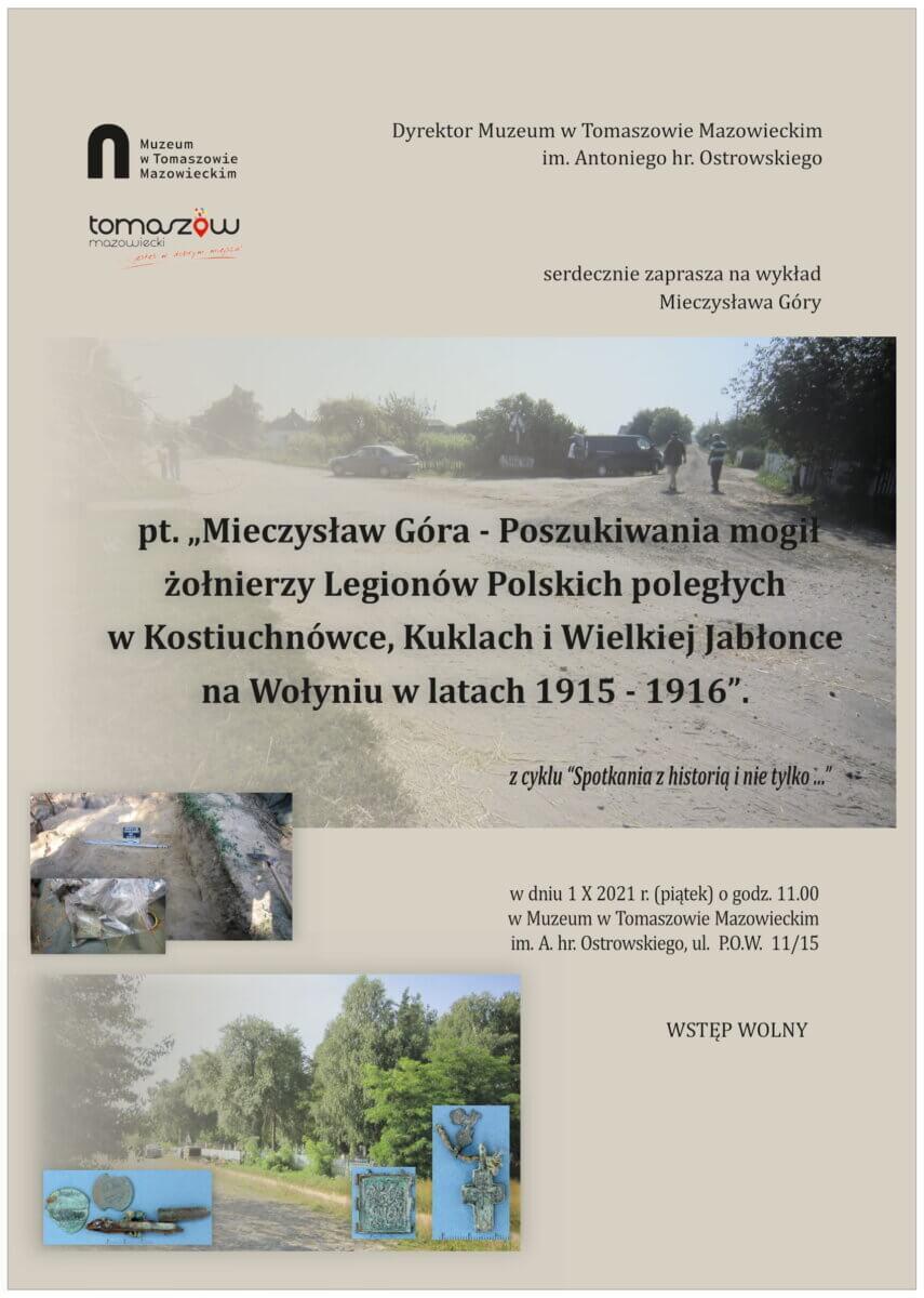 Wykład Mieczysława Góry w Muzeum
