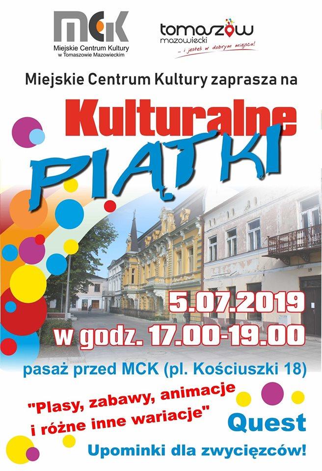 Kulturalne Piątki z MCK