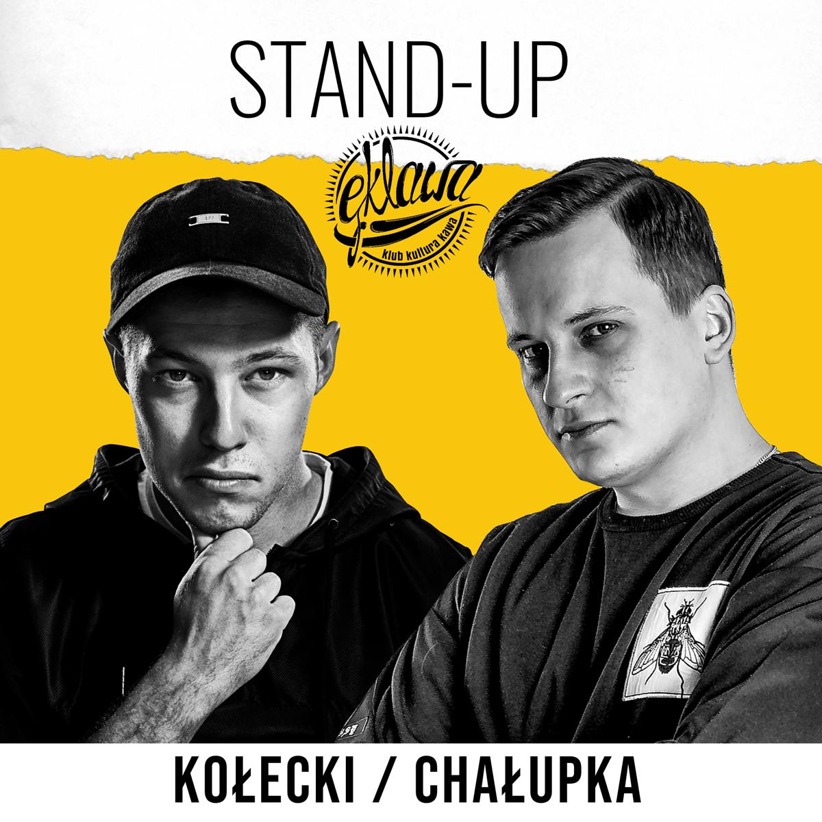 Stand-up w Ęklawie: Tomek Kołecki, Paweł Chałupka