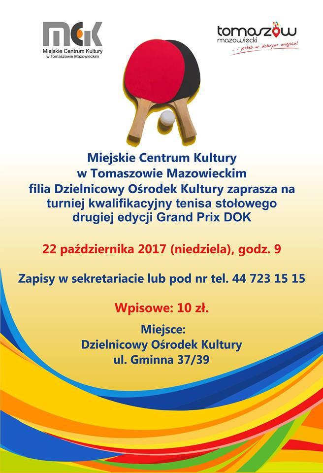 Turniej kwalifikacyjny drugiej edycji Grand Prix DOK
