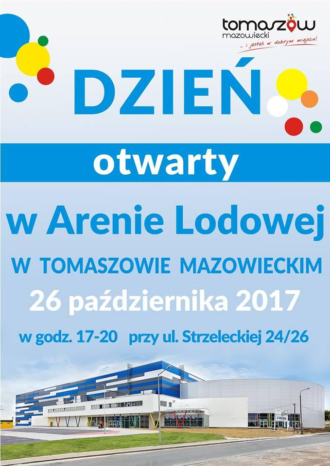 Dzień otwarty w Arenie Lodowej