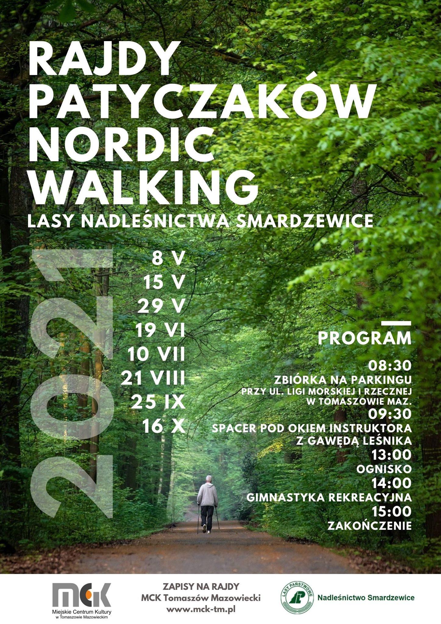 Rajdy Patyczaków Nordic Walking