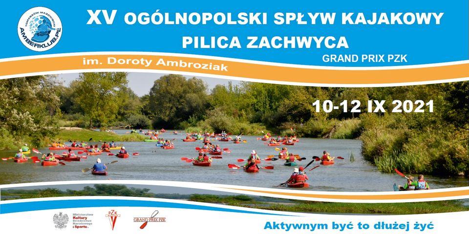 XV Ogólnopolski Spływ Kajakowy Pilica Zachwyca