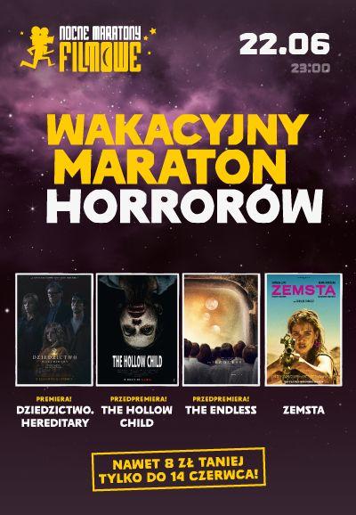 Wakacyjny Maraton Horrorów Kino Helios Tomaszów Mazowiecki