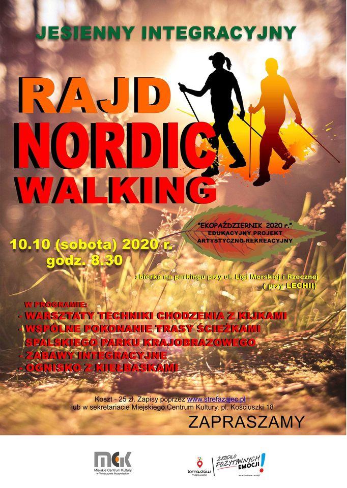 Jesienny integracyjny Rajd Nordic Walking