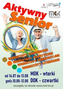 Aktywny Senior - warsztaty...