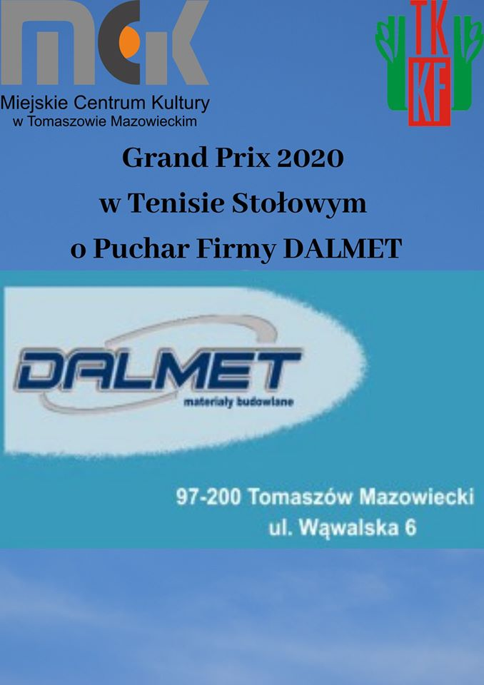Grand Prix w Tenisie Stołowym 2020