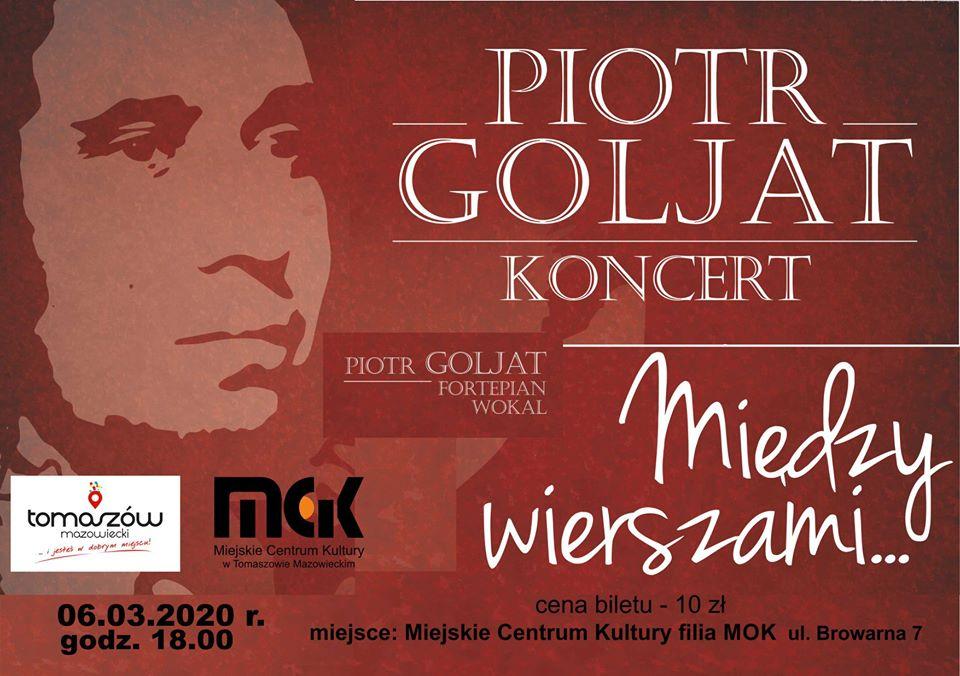 Piotr Goljat - koncert