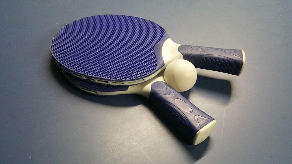 Towarzyski mecz tenisa stołowego Tomaszów - Opoczno
